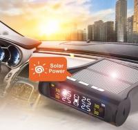 Система контроля давления в шинах на солнечных батареях
